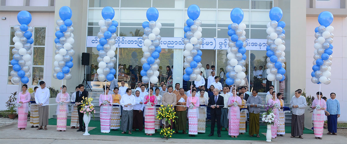 NATIONAL INSTITUTE OF METROLOGY- MYANMAR OPENED