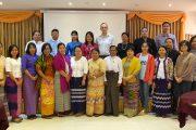 Calidena Moderator Training in Myanmar