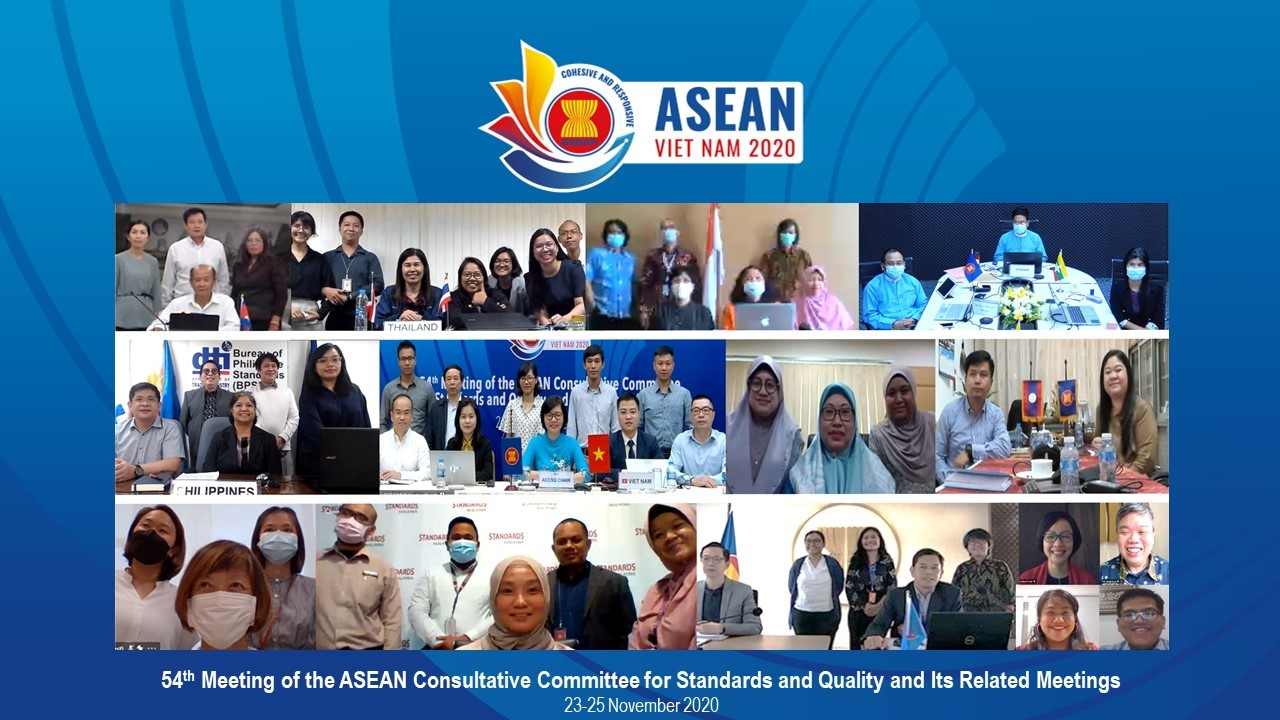 The 54<sup>th</sup> meeting of the ASEAN Consultative Committee for Standards and Quality (ACCSQ)